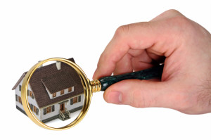 Concept image of a home inspection